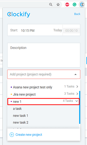 add a task extension